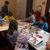 Atelier décorations - marché de Noël de Bozel 2011