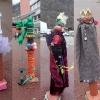 street art devant le lycée - 1e option arts plastiques