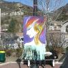 mars 2012 - Grande Lessive - terminale option arts plastiques