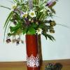 Vase dentelle