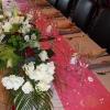 Coeurs pour une table de mariage