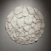 Feuille Blanche - faïence/bois - oct. 15 - 60x60cm