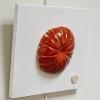 Les fruits murs - faïence/bois - 20 cm - 2015