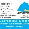 Identité visuelle - SARL Alp'Ouverture - Aime