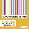 Flyer 12x12 pour le Supermarché de l'Art à Albertville