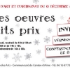Invitation pour la Maison des Arts - format DL - décembre 2011