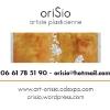 Carte de visite - Orisio - plasticienne