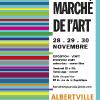 Affiche Abris bus - Super marché de l'Art 2014