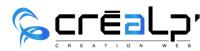 Logo Créalp'